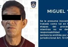Cae Miguel, presunto violador serial del sur de la CDMX