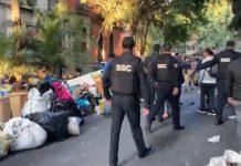 Mazahuas reingresan a predio en la colonia Juárez, tras intento de desalojo