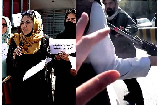 Afganistán, protestas de mujeres