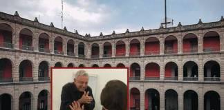 AMLO recibe a Ifigenia en Palacio, tras entrega de la medalla Belisario Domínguez