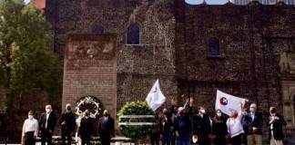 No habrá más represiones por parte del Estado; Sheinbaum en ceremonia del 2 de Octubre