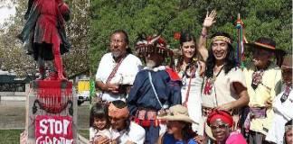 Colón y pueblos indios se celebran el mismo dia en EE.UU.