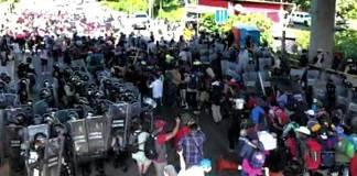 Caravana migrante a la Ciudad de México