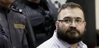 Javier Duarte, preso en cuarentena