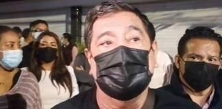 Félix Salgado informó que compañeras están fuera de peligro