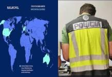 Interpol hace redada mundial en dark web