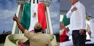 AMLO encabezó celebración de 200 años de la Marina
