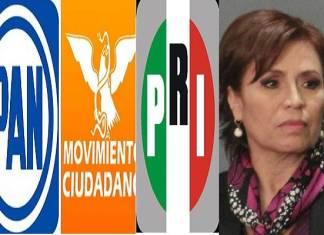 Rosario Robles recibe apoyo de senadores de oposición