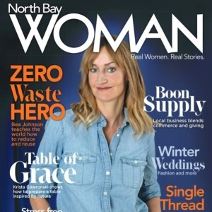 Magazine Picture of Bea Johnson Zero Waste Hero Influencer