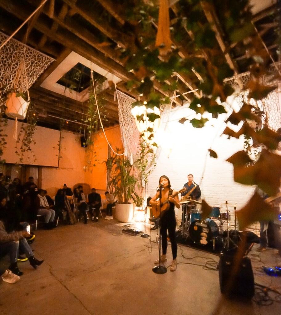 live performance female singer open mic live band brooklyn nyc