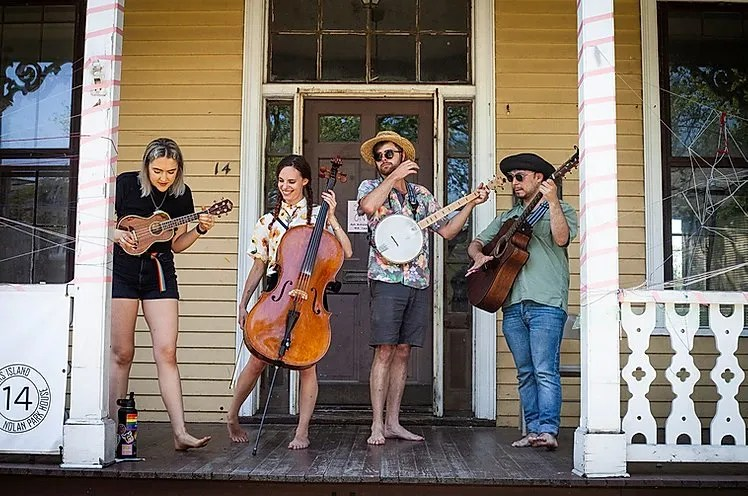 porch stomp at Regency Event Venue