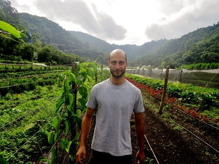 The most impressive permaculturalist you've never heard of. Alex Kronick of Caoba Farms: 041