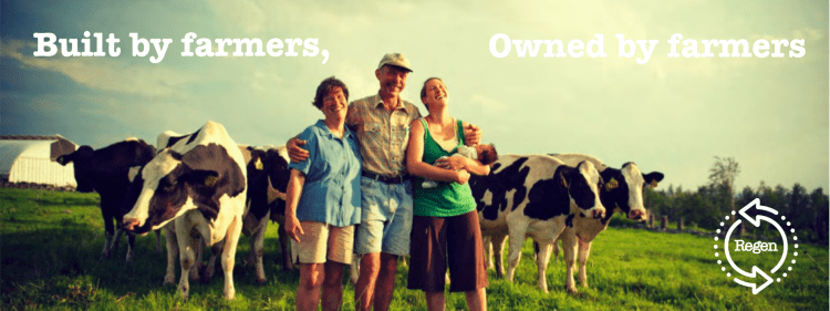 Built by farmers, owned by farmers