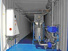 REW Regenis - Regenis GT GärrestTrockner - Innenansicht Container