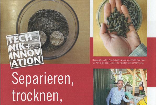 REW Regenis - Presseartikel Biogas Journal 2014-06