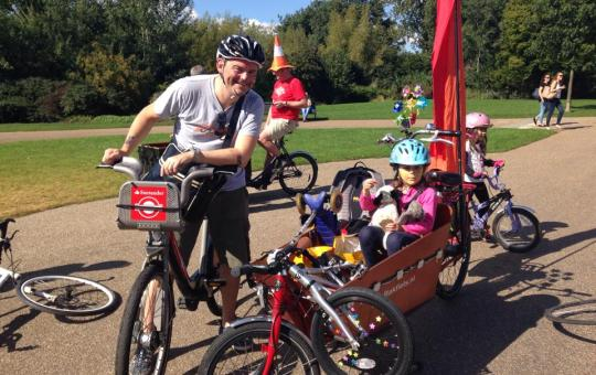 Kidical Mass UK at Regent's Park