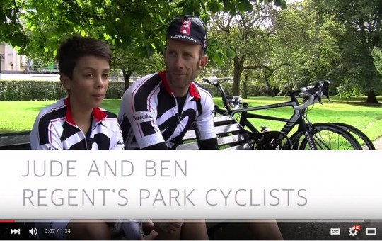 Ben and Jude: Cyclist Profile (Video)