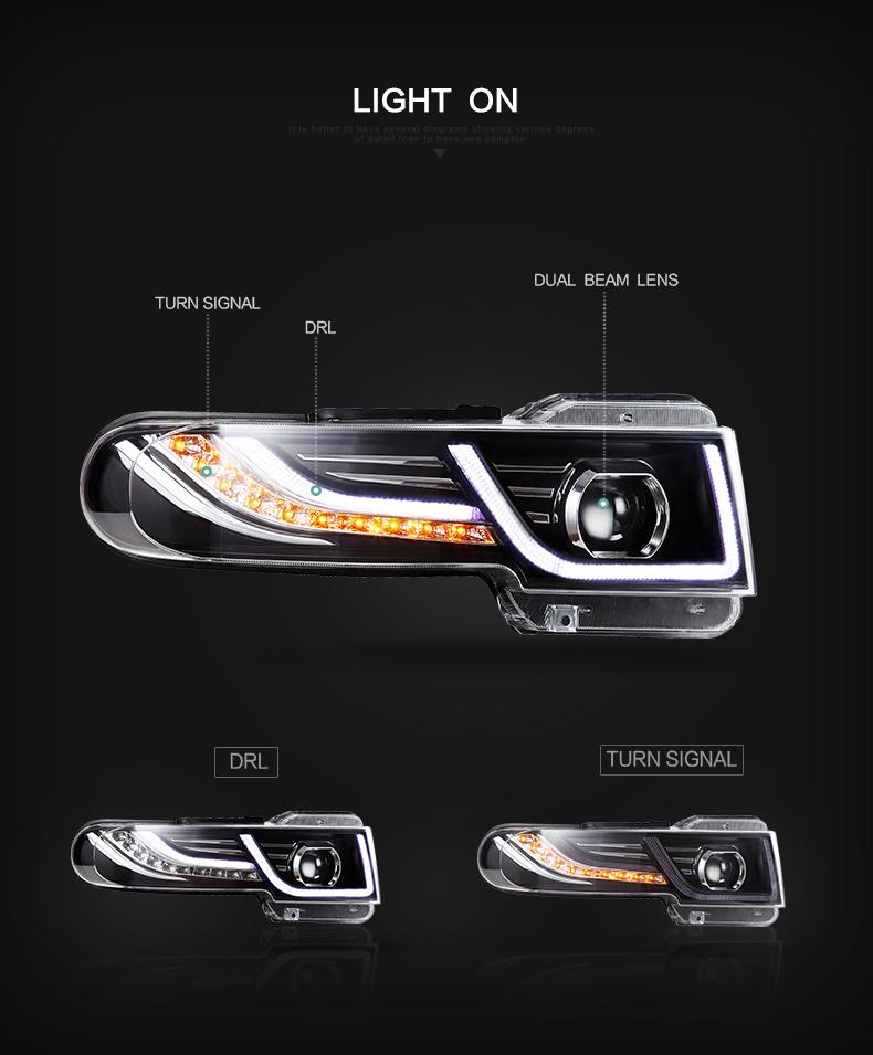 toyota fj cruiser headlight headlamp head lamp light