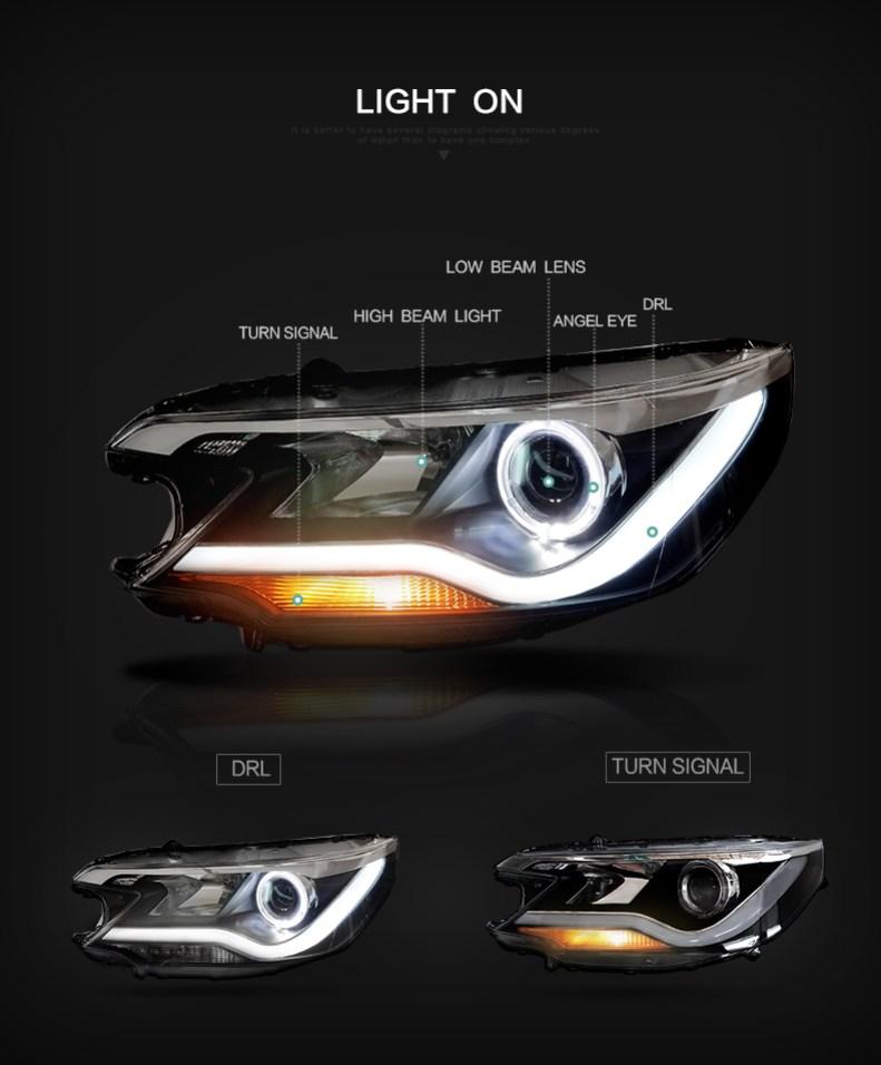 honda cr-v headlights qatar