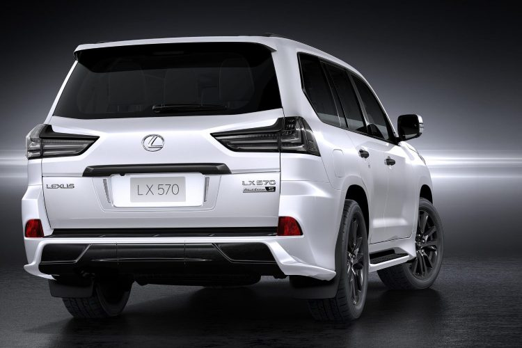 Lexus Lx 570 Black Edition Tail Lights 2016-2020