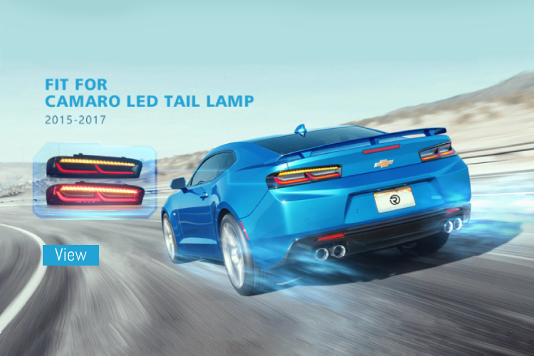 camaro tail lights
