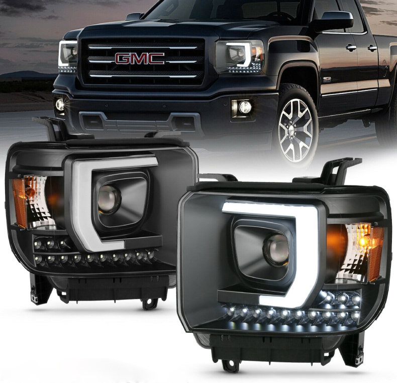gmc sierra headlights doha qatar