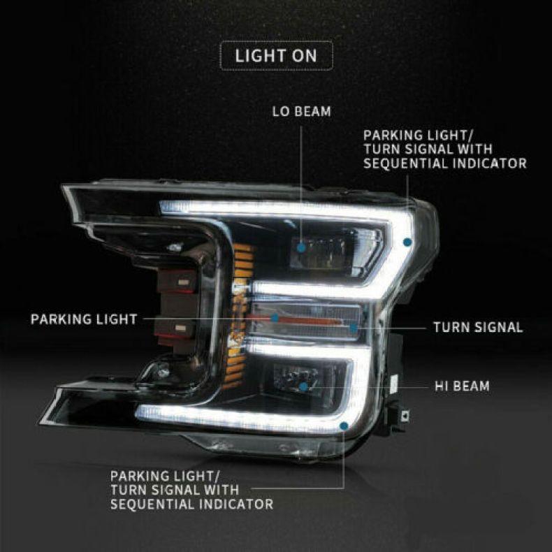 ford F150 headlights qatar