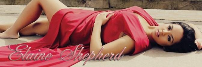 Elaine Red Dress Diamonds Cover