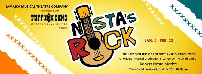 Nesta's Rock coming Jan 2015! [Photo Courtesy of JMTC]
