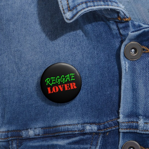 Reggae Lover pin
