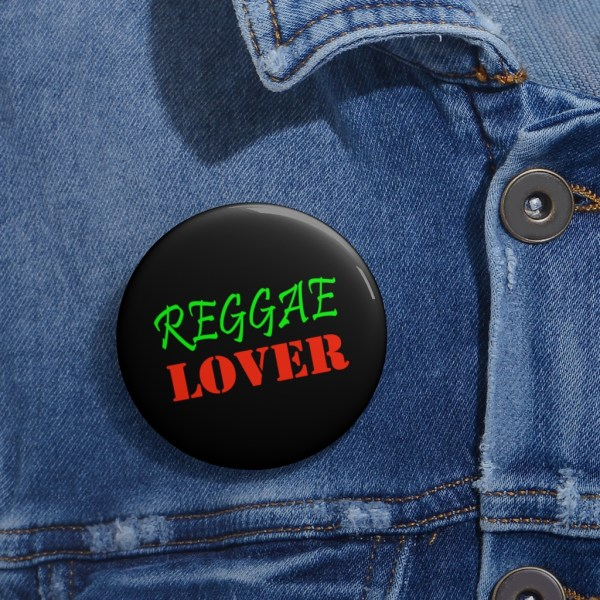 Reggae Lover pin custom