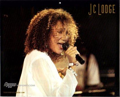 JC Lodge Reggae Report 1994 Calendar Photo