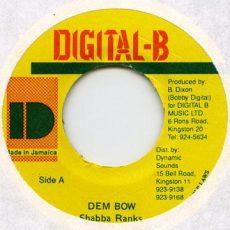 bobby digital, digital b, shabba ranks, reggae, dancehall, jamaica