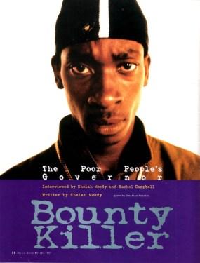 bounty killer story in reggae report