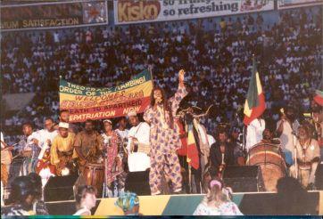 Mandela Day Kingston July 1991