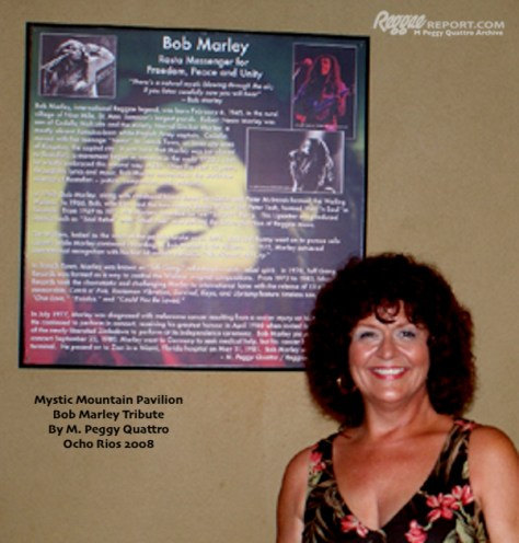 Bob Marley Tribute at Mystic Mountain, JA, by M. Peggy Quattro