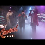 Nicky Jam, The Americanos,Ty Dolla $ign y French Montana – 'In My Foreign' @ Jimmy Kimmel Live (2017)