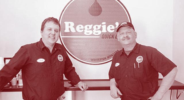 Reggies quick lube Team