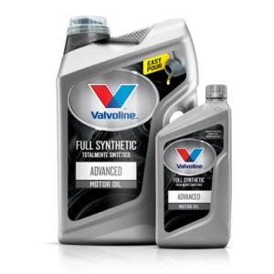VALVOLINE™ ADVANCED FULL SYNTHETIC MOTOR OIL (FORMERLY SYNPOWER™)
