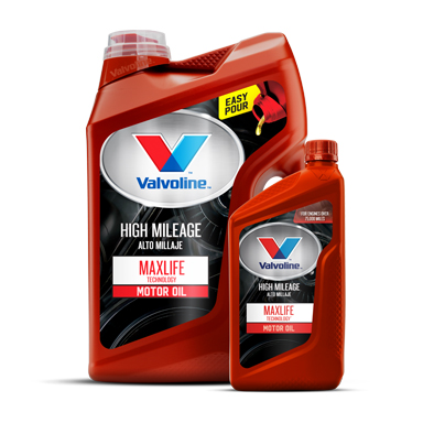 VALVOLINE™ MAXLIFE™ SYNTHETIC BLEND MOTOR OIL