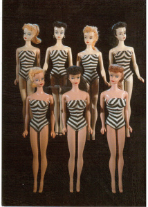 Bendable Barbie or beautiful and beige