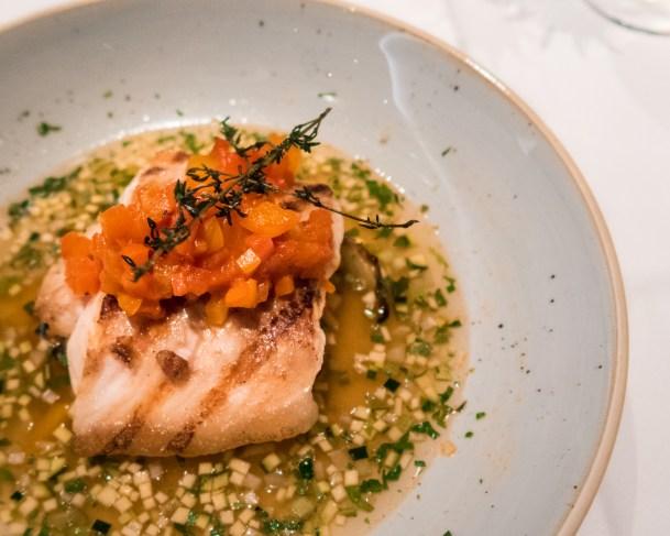 Terra Hauptspeise gegrillter weißer Wels Fisch