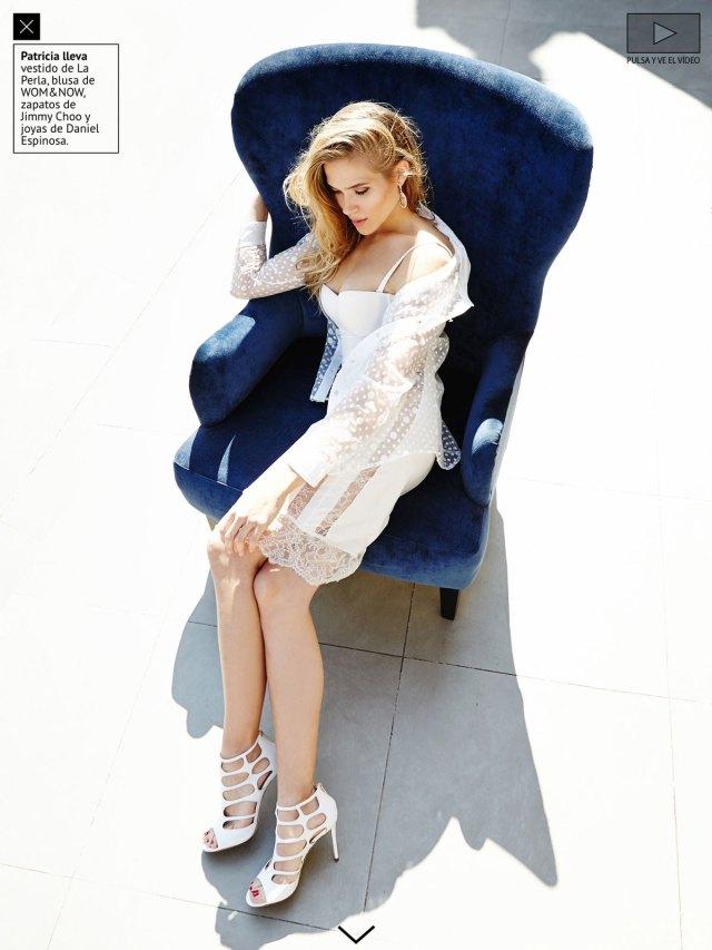 Maquillaje realizado para la actriz Patricia Montero en la Revista Mine.