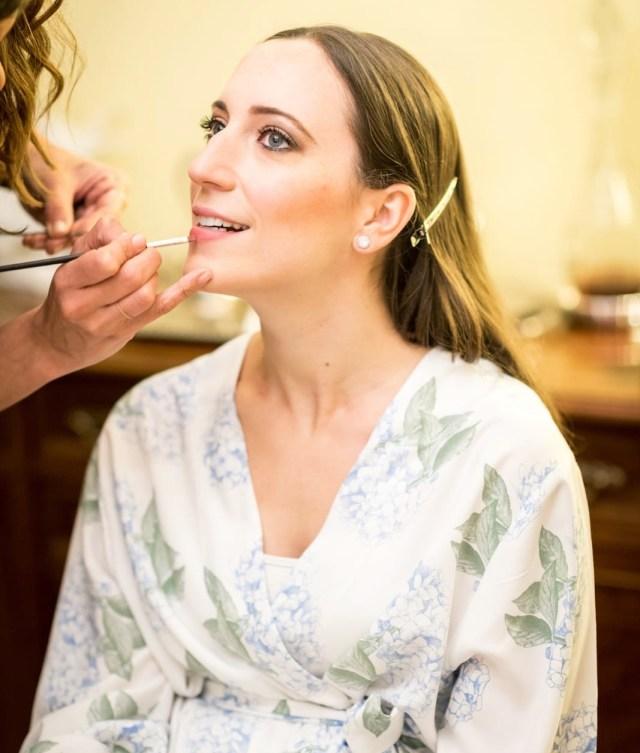 Maquillaje de novia realizado para Almudena por Regina Capdevila