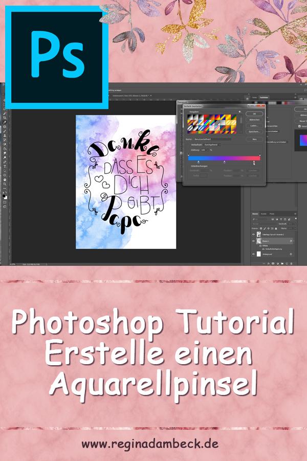 Erstelle Deinen eigenen Aquarellpinsel auf Photoshop Tutorial
