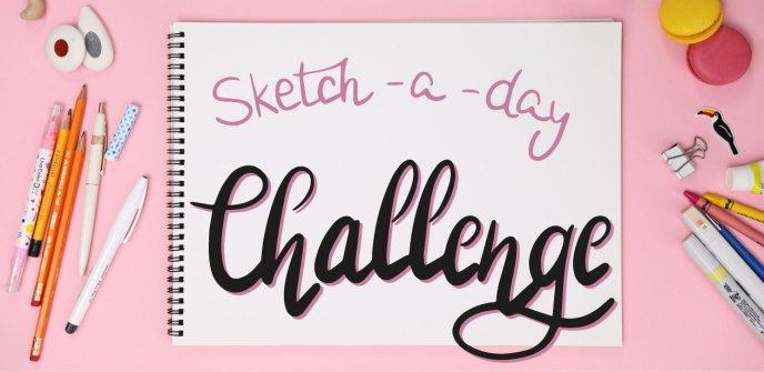 sketch a day challenge regina dambeck musterdesign