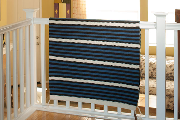6 Inspired ways to decorate with hand woven rugs