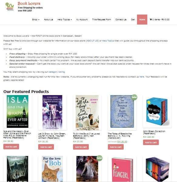 BookLoversStore