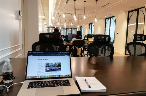 Colony coworking space at KL Sentral