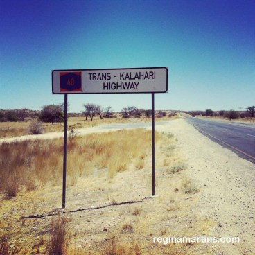 Trans-Kalahari B2 to Swakopmund - outside Usakos